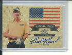 FRED FUNK SUPER PRISMATIC #1 1 AUTO ON CARD NATIONAL PRIDE 2012 LEAF METAL GOLF