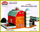 RED BARN WITH SILO  CHICKEN COOP KIT N Scale Model Power New Sealed 1517