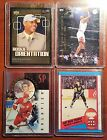 Michael Jordan Carmelo Anthony Rookie Mario Lemieux Sergei Federov card lot