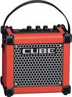Roland MCUBEGXR MICRO CUBE GX Ultra Compact Battery Powered Mini Guitar Amp Red
