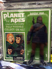 PLANET OF THE APES 8 INCH FIGURES  SOLDIER APE MEGO REPRO by Diamond Select
