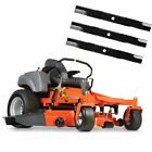 Husqvarna MZ52 23HP Kawasaki Zero Turn Lawn Mower ZT3100 W Extra Set of Blades