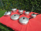 VTG 14 PIECE WAGNER WARE MAGNALITE ALUMINUM COOKWARE SET VERY NICE CONDITION