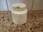 Feather Touch Bone China Jam Jelly Mustard Relish Condiment Jar Pot with Lid
