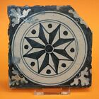 16th-17th C polychrome Spanish Majolica Faience Wall Tile Delft c1600 no reserve