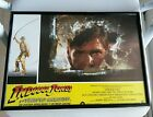 indiana jones lobby card temple of doom made in spain 1984