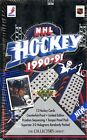 1990-91 UD UPPER DECK LOW SERIES SEALED HOCKEY BOX