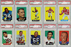 Incredible 1964 Topps Football Complete Set (176) All PSA Mint 9 - PSA NM-MT 8