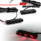 MC New Mini LED Rear Brake Light Red Footpegs Fairing Lighting for Yamaha