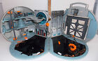 Star Wars Micro Machines Action Fleet Death Star Transforming Playset EUC 7 Figs