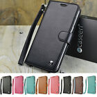 For Samsung Galaxy S6 Edge Plus Wallet Case Flip Stand Card Wrist Strap Cover