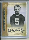 PAUL HORNUNG AUTOGRAPH # 45 2011 EXQUISITE COLLECTION NOTRE DAME PACKERS