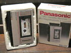 Vintage panasonic Mini cassette recorder model RQ310 with box