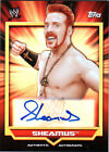 WWE Sheamus 2011 Topps Classic Authentic Autograph Card