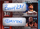 TNA Bully Ray & Devon Dudley 2012 TENacious RED Dual Autograph Card SN 1 of 10