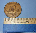 1871 - 1971 CHICAGO FIRE CENTENNIAL BRONZE MEDAL COIN / TOKEN