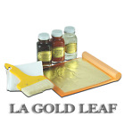 LA GOLD LEAF Imitation Gold Silver Genuine Copper Gilding Kit Loose 2oz