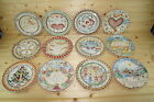 222 Fifth Twelve Days Of Christmas Salad Plates-ALL 12 Plates are Included!