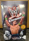 2014 Topps Chrome WWE Wrestling Factory Sealed Hobby Box