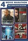 4 MOVIE MARATHON POST APOCALYPTIC COLLECTION USED VERY GOOD DVD
