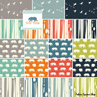 Birch Fabrics BEAR CAMP Fat Quarter Bundle 19 Precut Cotton Fabric Quilting FQs
