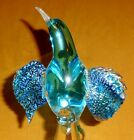 Formia Murano Glass Limited Edition Bird, Paradise Blue Ltd. to 12,500, Free S/H