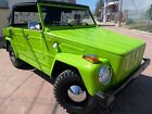Volkswagen Thing THING 1973 vw thing original southern california low mileage