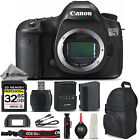 Canon EOS 5DS R 5DSR 506 MP Digital SLR Camera Body Essential Kit Bundle