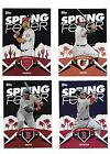 2015 TOPPS SPRING FEVER BASEBALL SET CARDS #1-50 Abreu Tanaka TROUT KERSHAW
