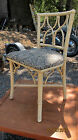 Vintage Faux Bamboo Hollywood Regency Ficks Reed Chair Chipendale