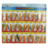 New Lot 30pcs Kinds Of Fishing Lures Crankbaits Hooks Minnow Bass Baits Tackle