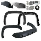 For 1994-2002 Dodge Ram 1500 2500 3500 Pocket Style Black Rivet Fender Flares
