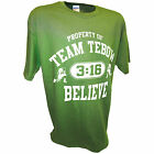 Team Tim Tebow Quarterback New England Patriots Tight End Football Jersey Tee