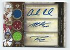 Andrew Luck, Wilson, Griffin 2013 Topps Triple Threads Autograph Trio 1 27