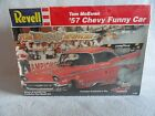 COLLECTIBLE REVELL MODEL KIT of TOM McEWEN '57 CHEVY FUNNY CAR ~ BRAND NEW IN BX