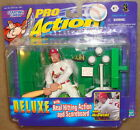 1998 Starting Lineup Mark McGwire St. Louis Cardinals pro action real hitting