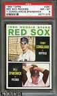 1964 Topps #287 Red Sox Rookies w Tony Conigliaro RC Rookie PSA 8 NM-MT