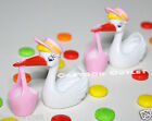 12 PC BABY SHOWER FAVORS STORK WITH BASKET RECUERDOS PARTY FAVORS PINK GIRLS LOT