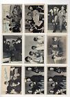 Vintage 1964 Topps Beatles 3rd Series Black & White ... 16 Card Lot VG Condition