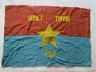Vietnam War _ FLAG _ RESOLVE TO FIGHT- TO WIN IN LOC NINH 1966 _ VIET CONG _ NLF
