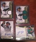 2016 TIER ONE KETEL MARTE 299 KYLE SEAGER 249 AUTO LOT & ROBINSON CANO 50 ETC