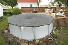 33 ABOVE GROUND POOL ROUND WINTER COVERS 20 YEAR for INTEX STEEL WALL