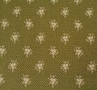 Music Collection BTY April Cornell FreeSpirit Floral Primrose Olive Green Tan