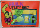 1978 REMCO Incredible Hulk UTILITY BELT Comic Book Marvel Super Hero Vintage MIB