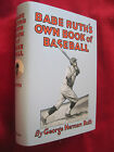 BASEBALL BOOK SIGNED BY BABE RUTH WITH PSA DNA LETTER - Copy 496 of 1000