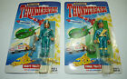 Vintage THUNDERBIRDS TV SHOW 2 carded Figures Matchbox 1994 3 3 4 inch a1