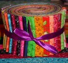 Jelly Roll Strips Quilt Fabric 20 diff fabrics 25 Distinctive Patchwork Cotton