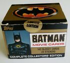 Batman Movie Cards Complete Collectors Edition Sealed Box Topps 1989 Limited