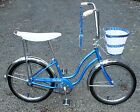 Vintage BLUE 1964 Schwinn J-88 FAIR LADY Stingray Bicycle S7 Original Paint LQQK