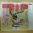 1973 Vintage Topps Baseball Card Wax Pack Wrapper Package Ump Indicator